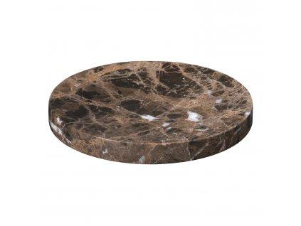 Podložka / tanierik mramorový stredný PESA hnedý Blomus