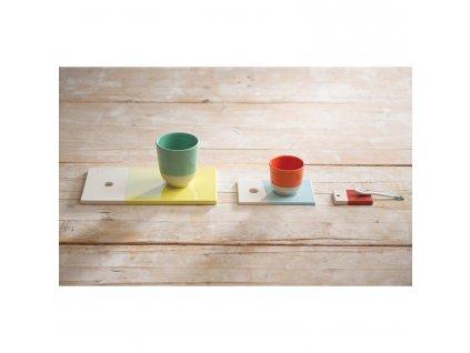 Pohár na čaj 20 cl sivá Stratus Color Lab REVOL