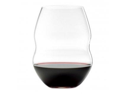Poháre na červené víno Swirl Riedel