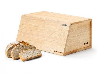 Drevený chlebník Continenta 40 x 26 cm