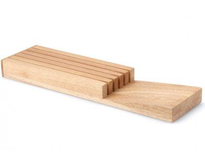 Drevený organizér na nože Continenta 39 x 11 x 3,5 cm