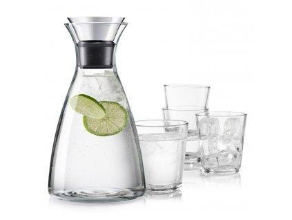 Súprava Karafa s drip-free okrajom + 4 poháre Eva Solo