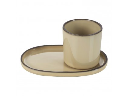 Téglik na kávu/čaj muškátový Nutmeg CARACTERE REVOL