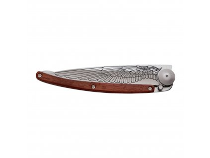 Vreckový nôž tattoo 37 g rosewood Wing deejo