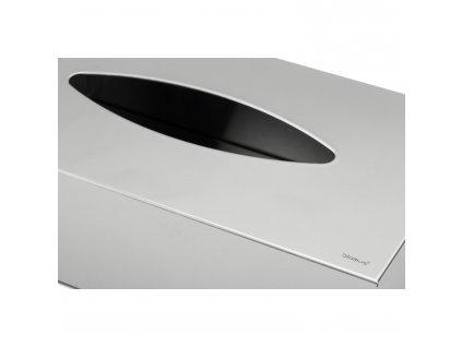 Box na papierové vreckovky leštená nehrdzavejúca oceľ NEXIO Blomus