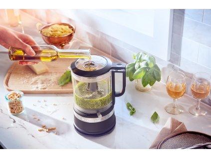 Food processor KitchenAid 5KFC0516 matná čierna