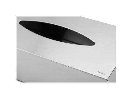 Box na papierové vreckovky matná nehrdzavejúca oceľ NEXIO Blomus