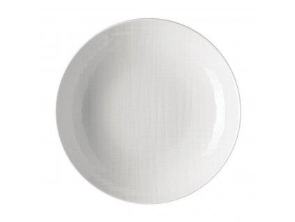 Hlboký tanier Mesh Rosenthal biely 19 cm