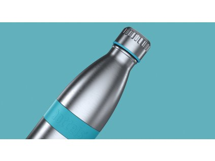 Fľaška TWEE Boddels tyrkysová 500 ml