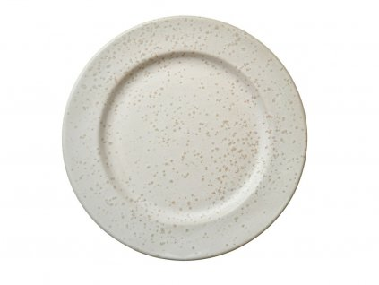 Dezertný tanier Bitz krémový matný 22 cm