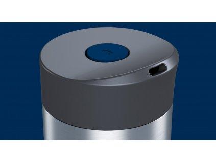 Termohrnček vákuový Koffje Boddels nočný modrý 370 ml