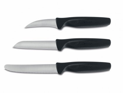Sada nožov na zeleninu Create Wüsthof čierne 3 ks
