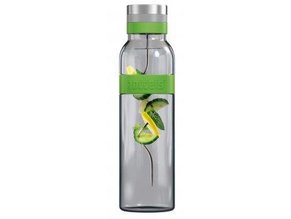 Karafa na vodu Sund Boddels jablkovo zelená 1,1 l