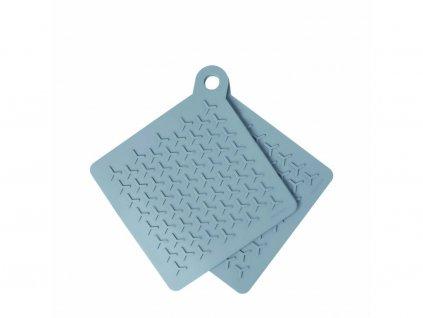Sada silikónových podložiek pod hrniec Flip Blomus modré 2 ks