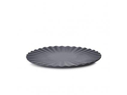 Plytký tanier Pekoe Revol čierny 17 cm
