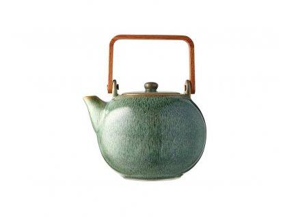 Kanvica na čaj Bitz zelená 1,2 l