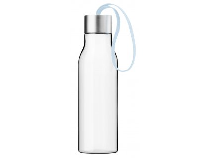 Fľaša na vodu Eva Solo svetlomodrým ramienkom 500 ml