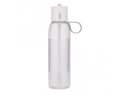 Športová fľaška s počítadlom plnenia Dot Active 81095 Joseph Joseph biela 750 ml