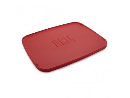 Multifunkčná doska na krájanie Duo 80077 Joseph Joseph červená 35x27 cm
