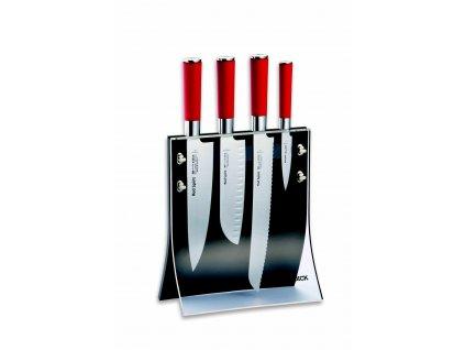 Sada nožov v magnetickom stojane Red Spirit F.Dick 4 ks