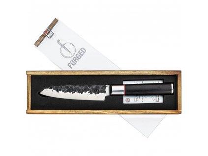 Nôž Santoku Sebra Forged 14 cm