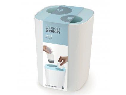 Kôš do kúpeľne na triedený odpad Split™ Joseph Joseph