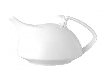 Čajová kanvica s pokrievkou Tac biela V 1,35 l Rosenthal