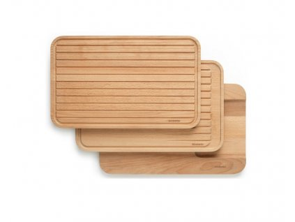 Brabantia sada drevených dosiek na krájanie 3 ks
