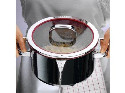 Hrniec 20 cm FUSIONTEC Functional čierny WMF  + ZDARMA Nôž WMF Kineo v hodnote 56,90 €