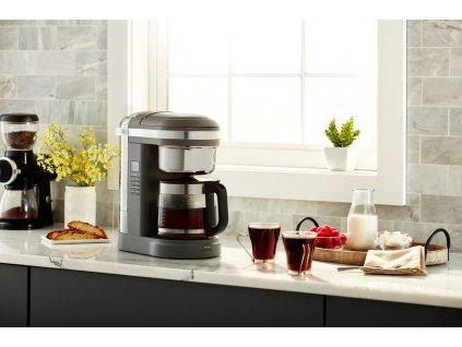 Kávovar na odkvapkávanie KitchenAid 5KCM1209 sivá matná