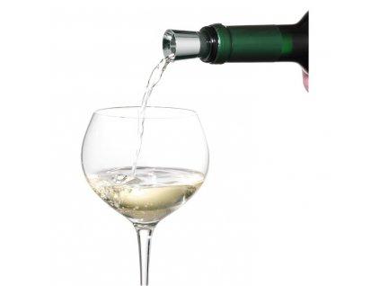 Lievik na víno so zátkou Vino WMF