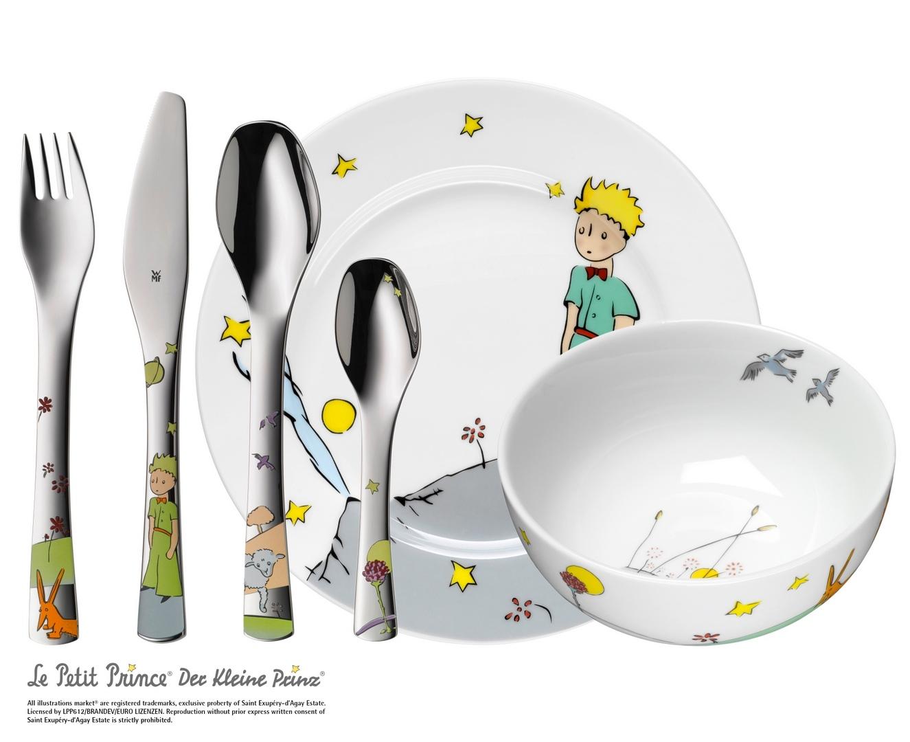 Detská jedálenská súprava 6-dielna Malý princ WMF