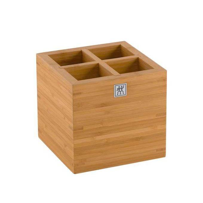 Bambusový box na kuchynské náčinie veľký ZWILLING