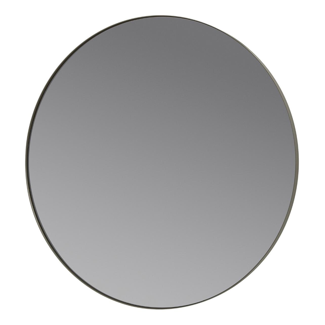 Okrúhle zrkadlo RIM kaki Blomus - Blomus Kulaté RIM 80 cm šedé