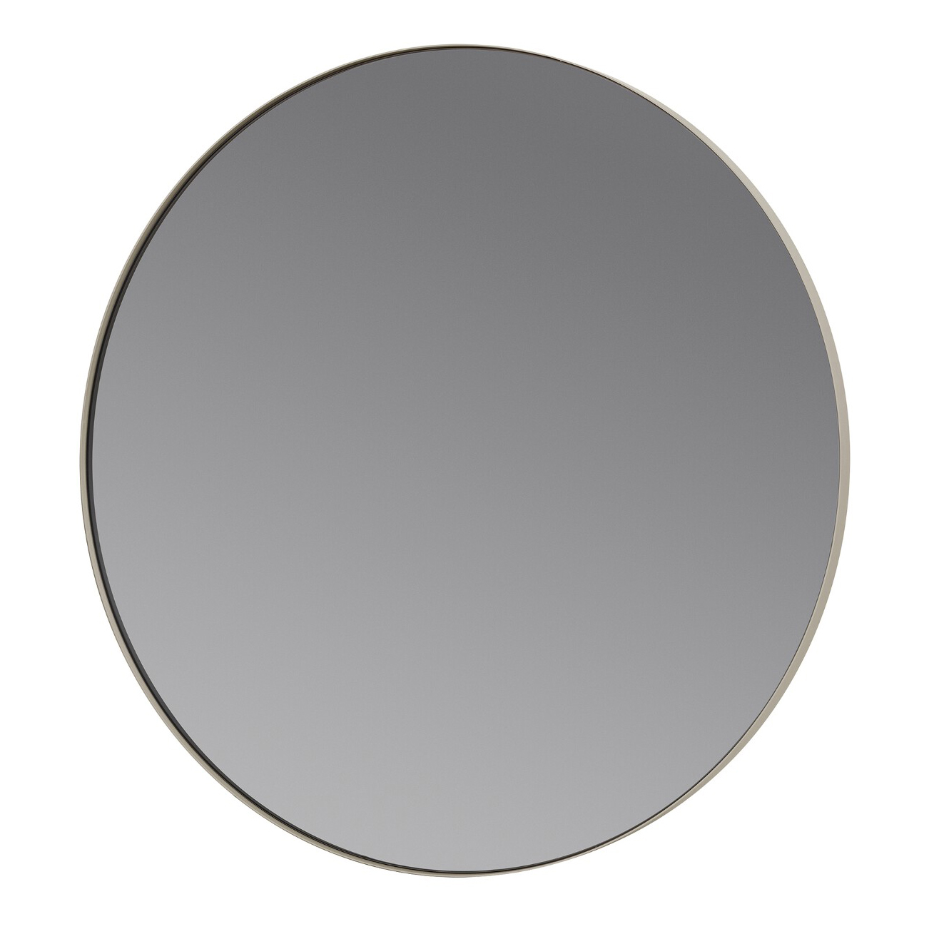 Okrúhle zrkadlo RIM sivé Blomus - Blomus RIM 80 cm šedohnedá
