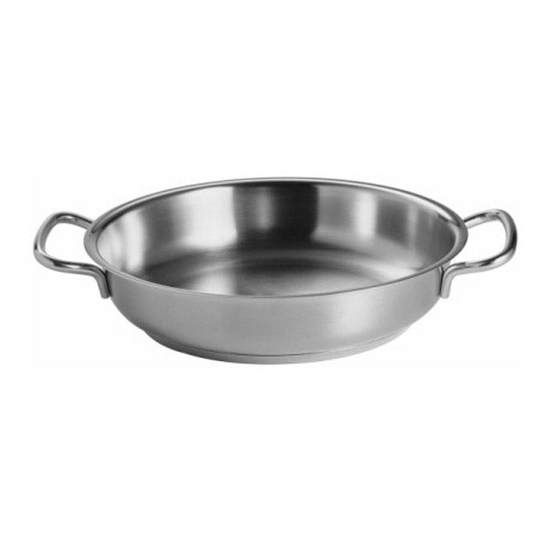 Panvica z nehrdzavejúcej ocele na smaženie a servírovanie O 24 cm original pro collection® Fissler