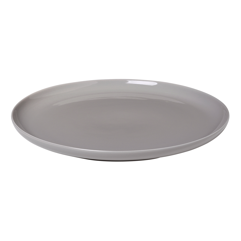 Plytký tanier na hlavné jedlo RO sivý Blomus - Blomus Mělký talíř RO 27 cm, hřejivě šedá