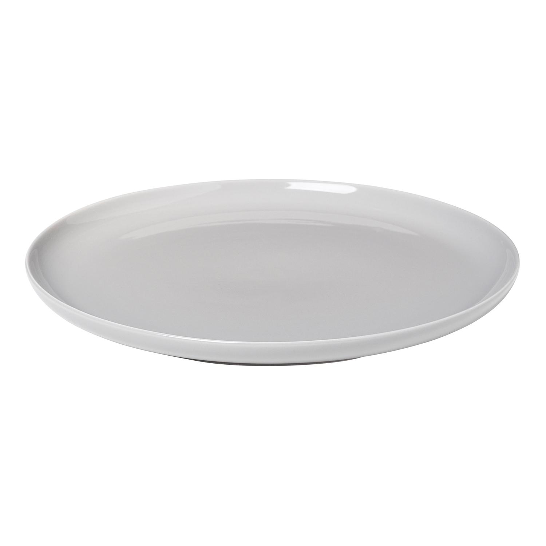 Blomus Plynový gril z nehrdzavejúcej ocele čierny O 59 cm Eva Solo - Blomus Mělký talíř RO 27 cm, světle šedá