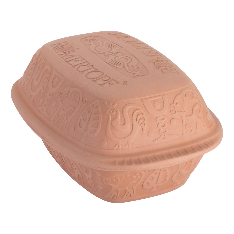 Rímsky hrniec s vekom veľký Klassik prírodný® Römertopf