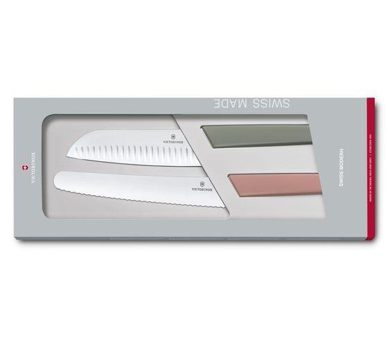 Sada nožov Victorinox Swiss Modern 2 ks farebná