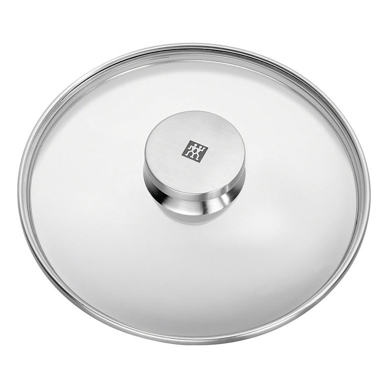 Sklenená pokrievka s úchytom z nehrdzavejúcej ocele O 20 cm TWIN® Specials ZWILLING