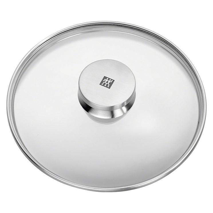 Sklenená pokrievka s úchytom z nehrdzavejúcej ocele O 24 cm TWIN® Specials ZWILLING