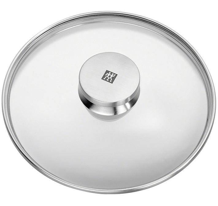 Sklenená pokrievka s úchytom z nehrdzavejúcej ocele O 28 cm TWIN® Specials ZWILLING