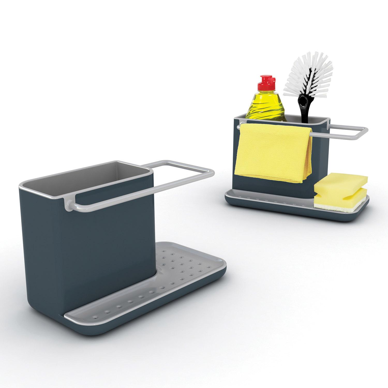Stojanček na umývacie prostriedky sivý Caddy™ Joseph Joseph