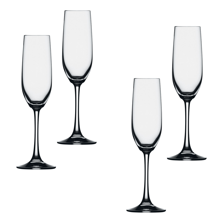Súprava 4 pohárov na šampanské typu flauta Vino Grande Spiegelau