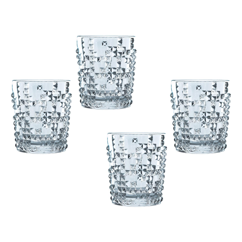 Súprava 4 pohárov na whisky Punk Nachtmann