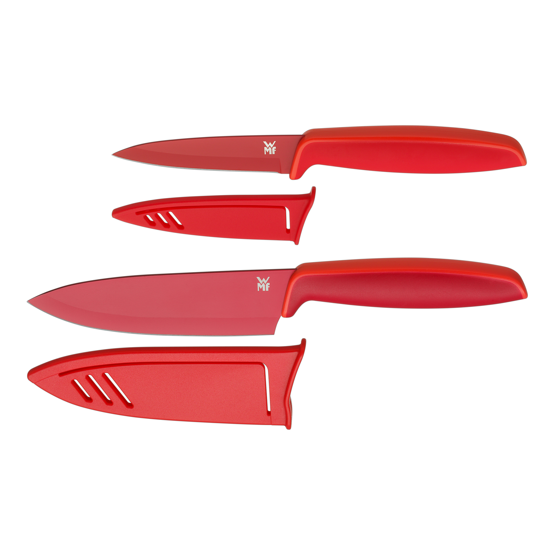 Súprava kuchynských nožov 2-dielna červená Touch WMF