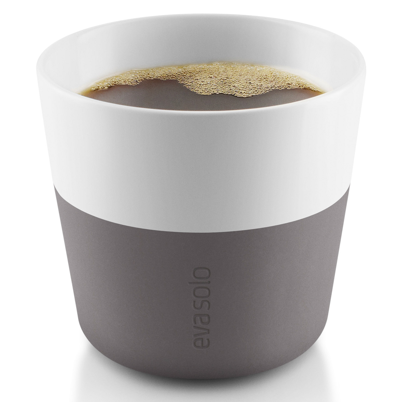 Termohrnčeky na kávu Lungo 230 ml 2 kusy sivé Eva Solo