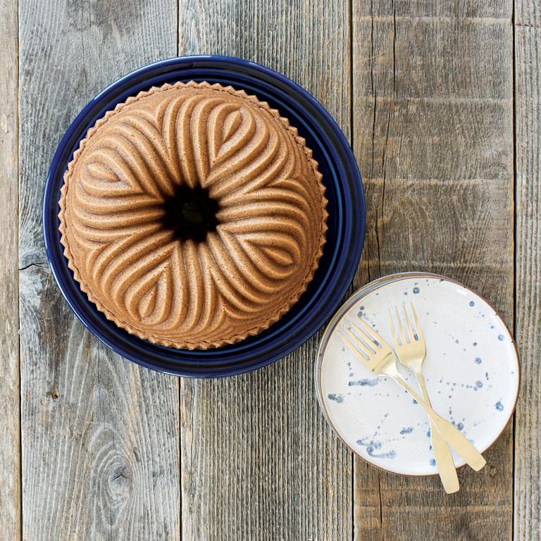 Forma na bábovku Bavaria Bundt® strieborná Nordic Ware