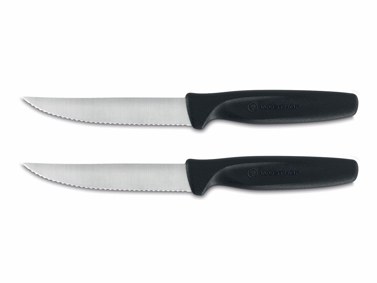Sada steakových nožov Create Wüsthof čierne 2 ks